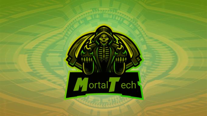 Create Free high quality Mascot Gaming Logo - MortalTech
