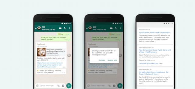 WhatsApp new feature Verify Forwarded Messages