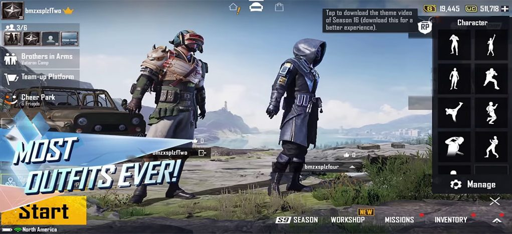 Pubg Mobile New Era is here with new GUI