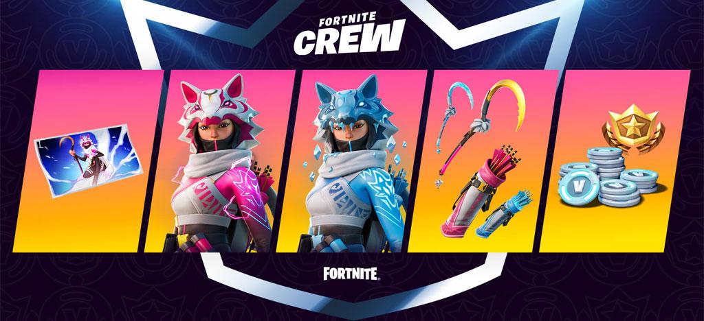 February Fortnite crew  Vi