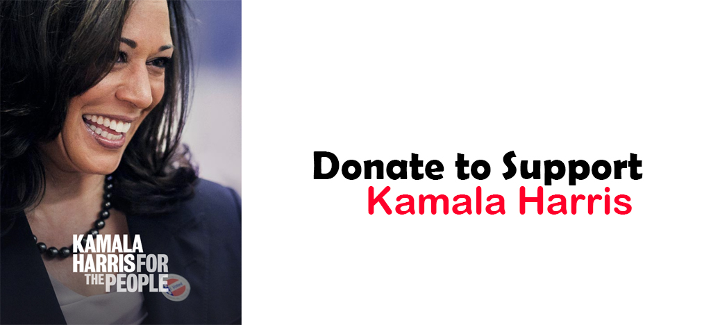 Donate and stand with kamala harris because she refuses to take donation from PACs