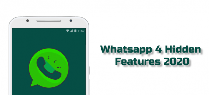 WhatsApp 4 Hidden Features you do not know