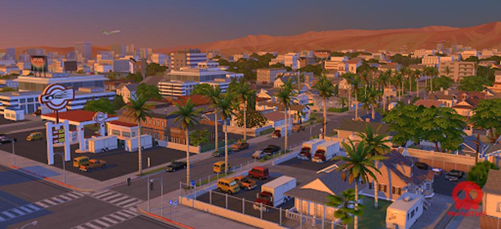 Del Sol Valley sims 4 worlds MortalTech