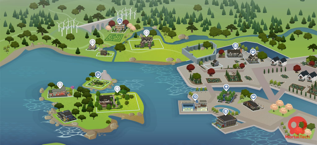 Windenburg sims 4 worlds - mortaltech