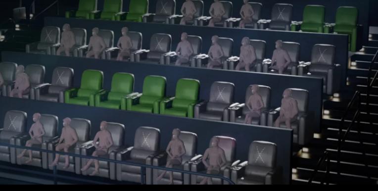 auditorium capacity at amc AmcTheatre (AMCTHEATRES)