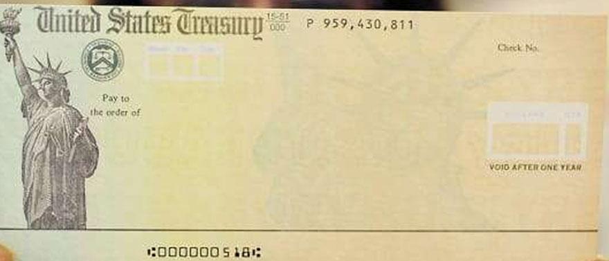 stimulus check america - MortalTech